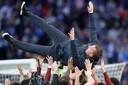 Brendan Rodgers is de gevierde coach.