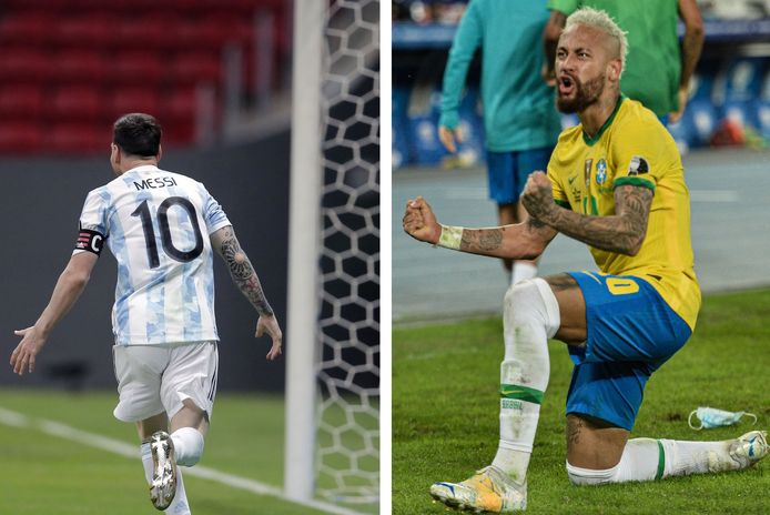 Lionel Messi et Neymar ont rendez-vous en finale de la Cope America.