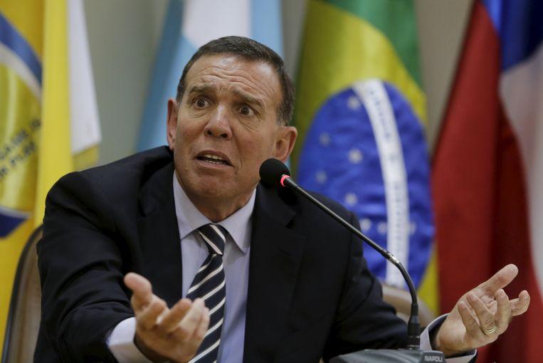 Juan Angel Napout, oud-bestuurslid bij de FIFA.