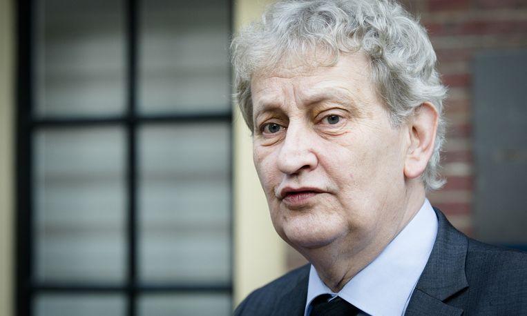 Burgemeester Eberhard van der Laan van Amsterdam. Beeld null