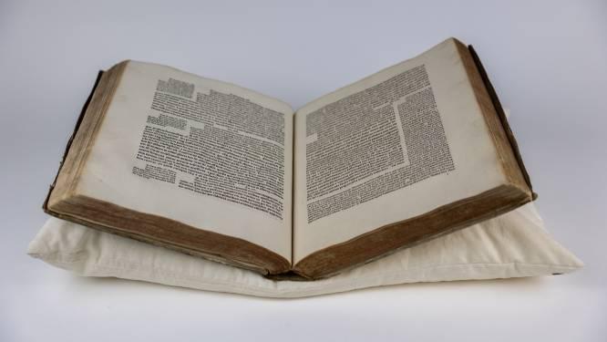 """M Leuven neemt oude drukken onder handen: """"Museum bezit wiegendruk uit 1488"""""""