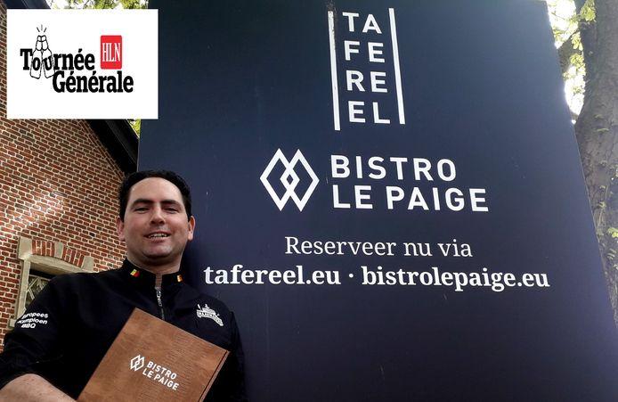 Jelle Ver Berne opent met Bistro Le Paige en Restaurant TAFEREEL twee nieuwe horecazaken in Herentals