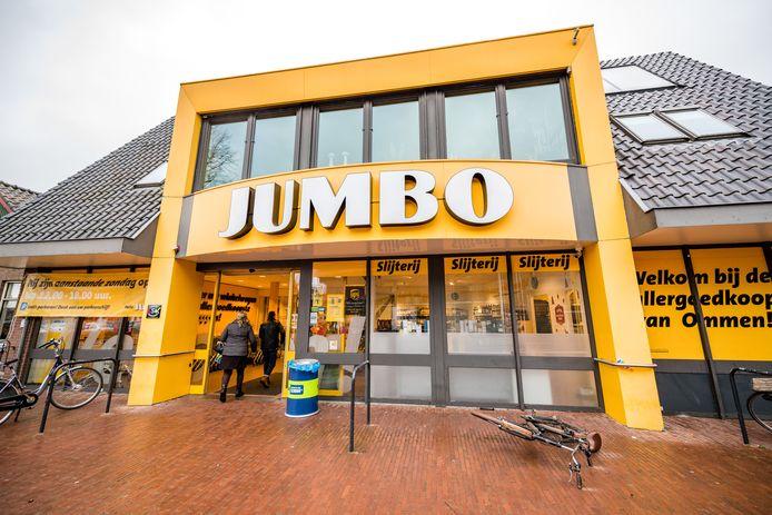De Jumbo in Ommen was in 2017 ook al open tijdens een kerstkoopzondag.