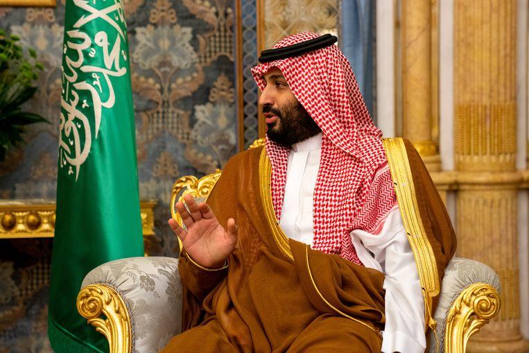 De Saudische prins Mohammad bin Salman. Beeld EPA