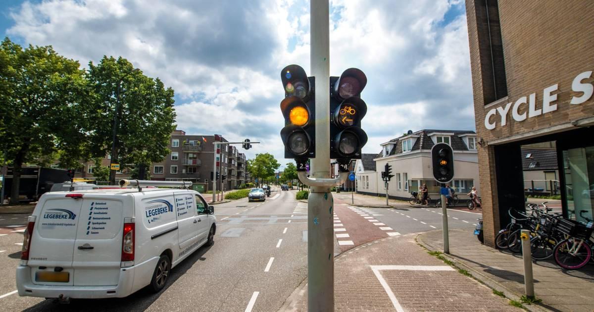 Opnieuw zorgen over 'ongelukskruising' in Apeldoornse binnenstad.