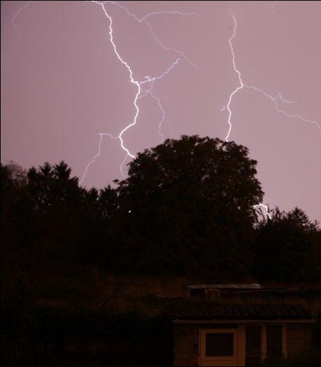 Alerte jaune aux orages dimanche après-midi