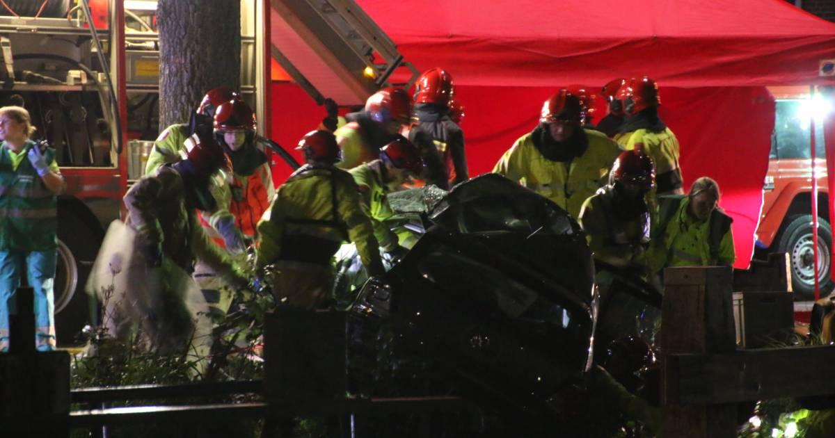 Twee doden bij ernstig auto-ongeval Stadskanaal.