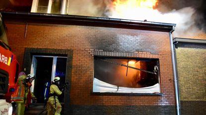 Muziekatelier gaat in vlammen op