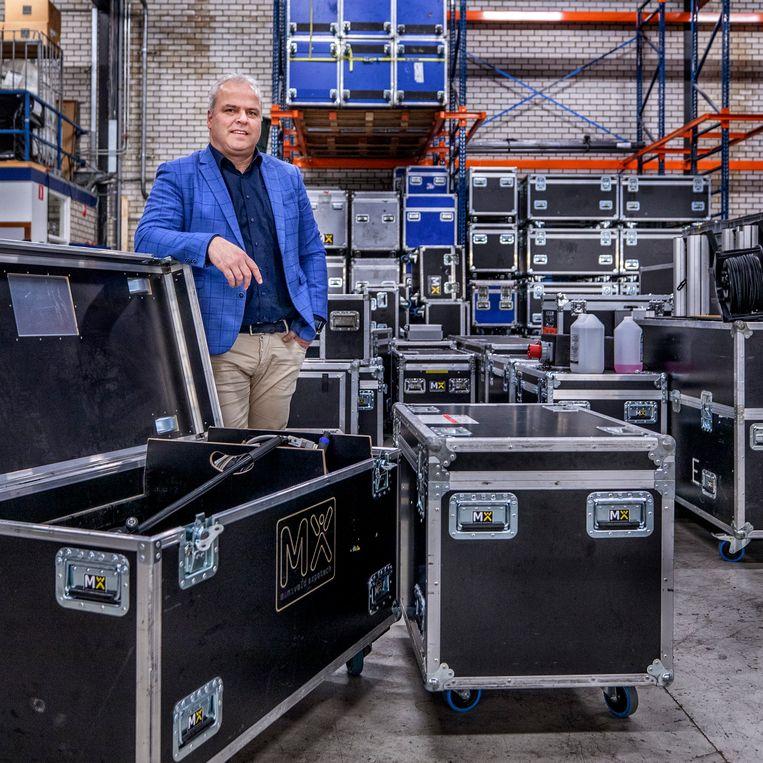 Expotech-directeur Richard Kluijtmans. Beeld Raymond Rutting / de Volkskrant