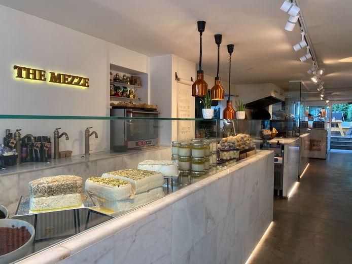Restaurant Beiruti in de Volderstraat.