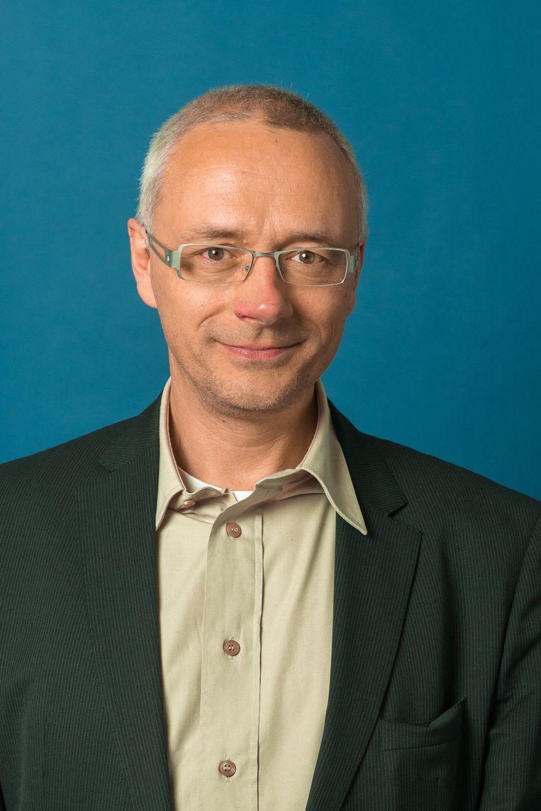Geert Joris. Beeld  De Taalunie