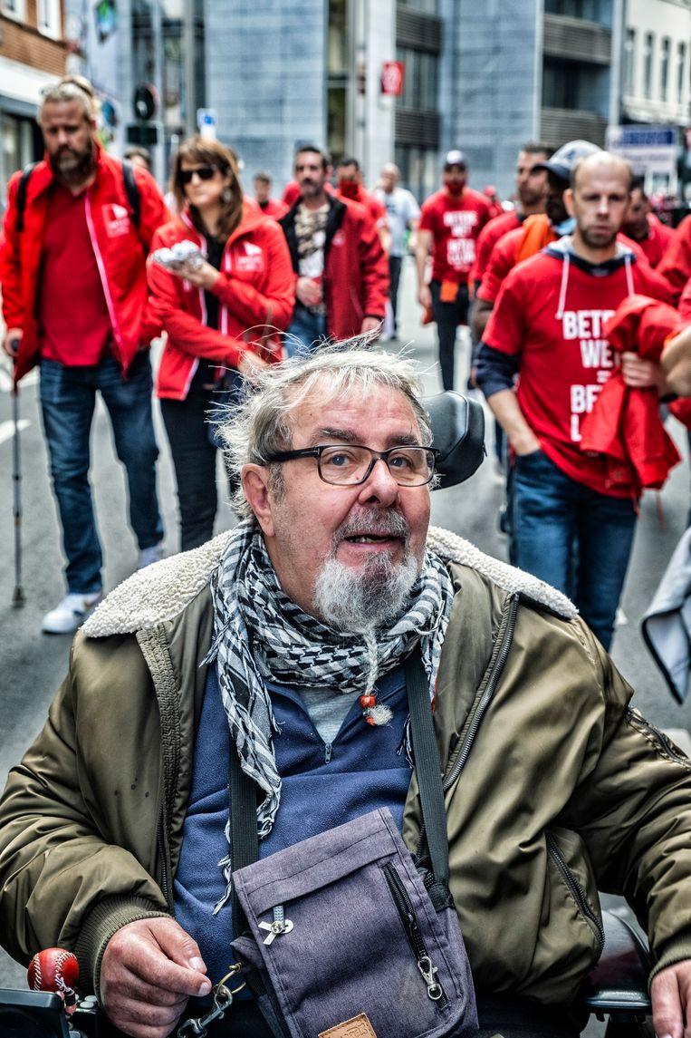 Edouard Depry: 'Ik zie dat veel mensen werken en toch arm blijven.' Beeld Tim Dirven