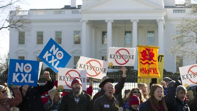 Obama blokkeert omstreden oliepijpleiding Keystone XL met veto
