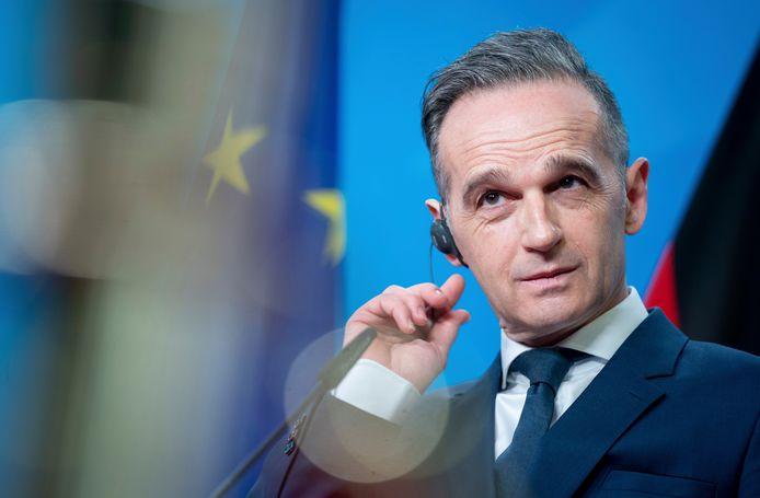 Minister Heiko Maas van Buitenlandse Zaken