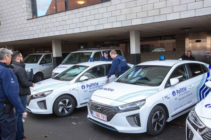 De wijkinspecteurs kregen vorig jaar ook al nieuwe voertuigen ter beschikking.