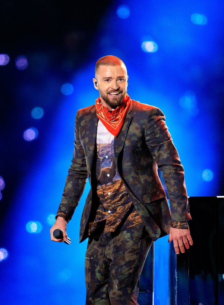 Justin Timberlake, één van de all time favorites van Fatma Taspinar. Beeld AFP