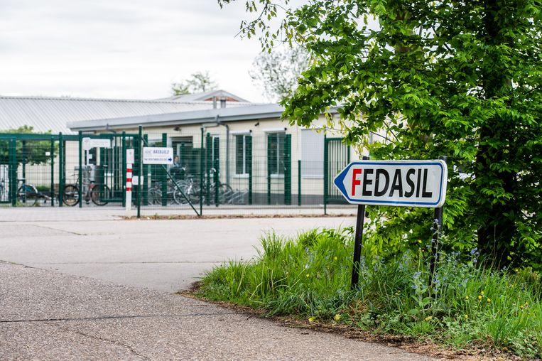 Beeld ter illustratie. Het asielcentrum in Broechem, bij Ranst. Beeld BELGA