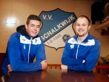 Yannic Hoonhoud is de jonge duizendpoot bij VV Schalkwijk