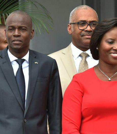 Gewonde weduwe van vermoorde president Haïti keert terug voor zijn begrafenis