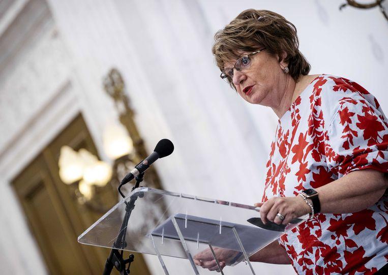 Informateur Mariette Hamer. Beeld EPA