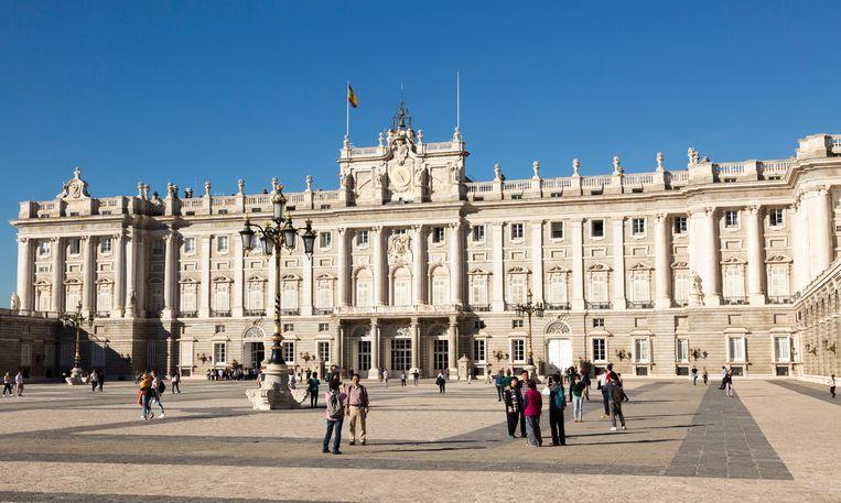 Ook in de Spaanse hoofdstad zijn er nog namen die verwijzen naar de Franco-dictatuur.  Beeld Universal Images Group via Getty