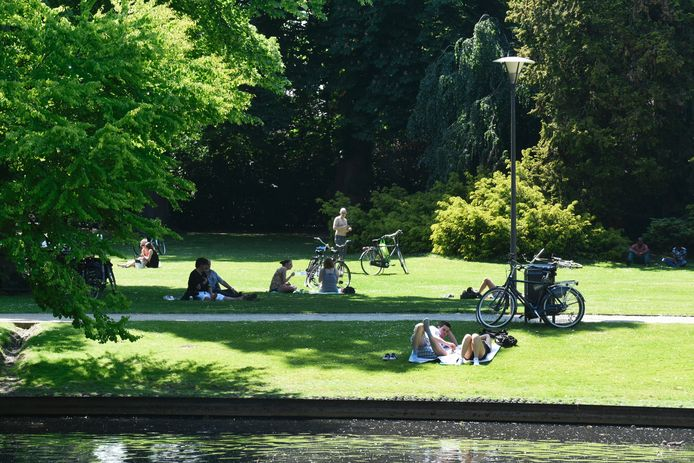 Het Wilhelminapark in Tilburg is tegenwoordig een oase van groen.