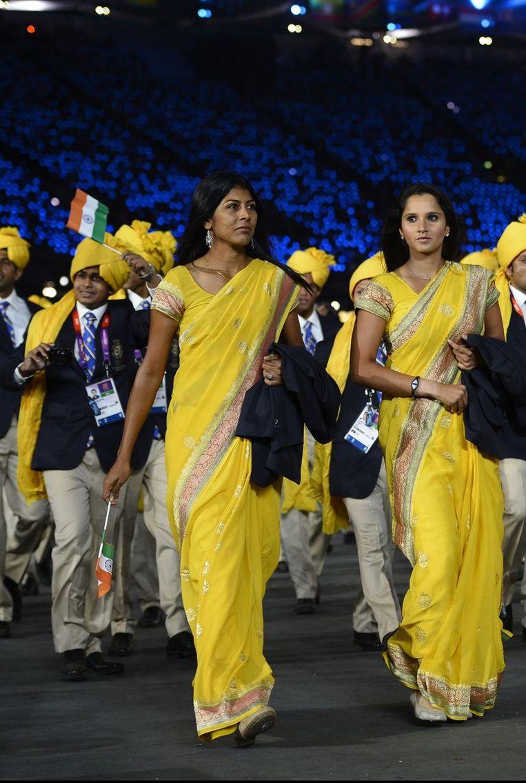 olympische spelen india Beeld Getty Images