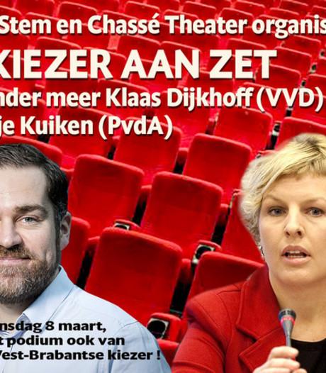 De Kiezer aan Zet!, verkiezingsdebat van Chassé Theater en BN DeStem