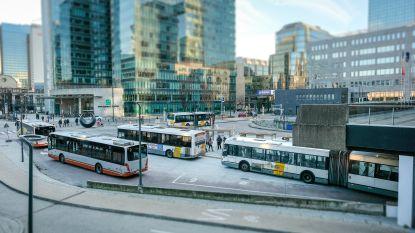 De Lijn neemt tijdelijk busstation aan Brussel-Noord in gebruik