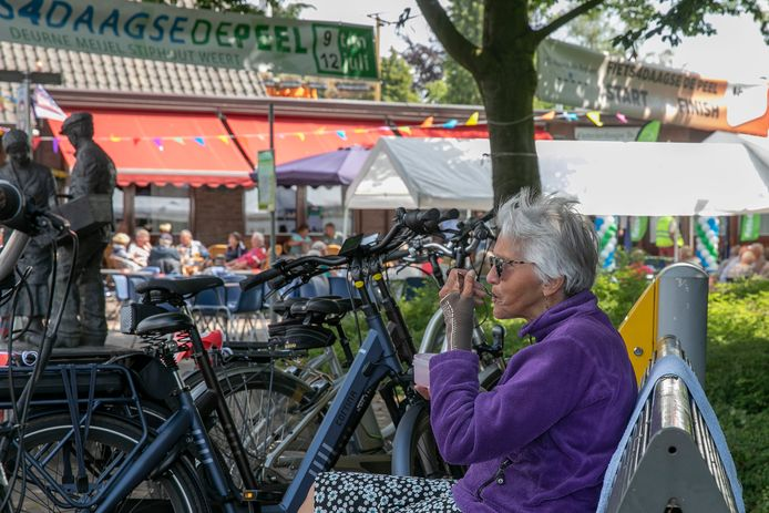 Fiets4daagse De Peel in Stiphout in 2019.