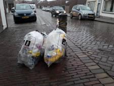 Plastic afval niet goed gescheiden? Dan krijg je in Tholen een sticker