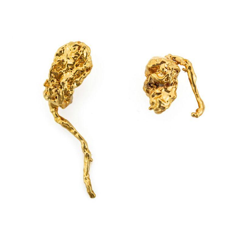 Pommes de Jong, juwelen van uitgeschoten aardappelen. Beeld Deniz Guzel