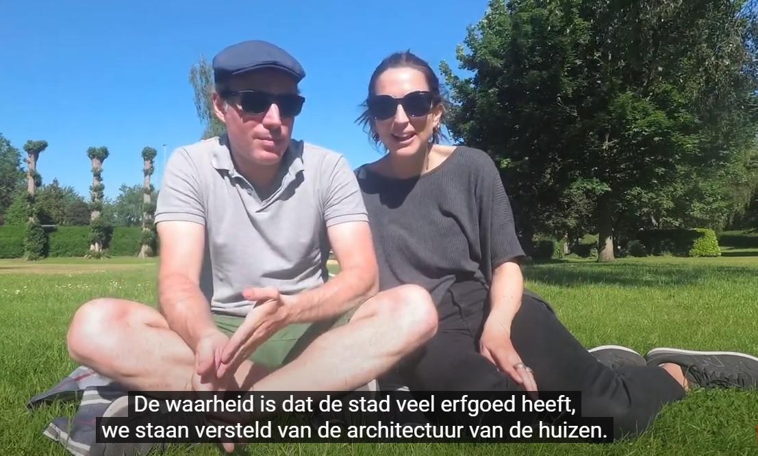Noe en Santi maakten de video voor hun reisblog.