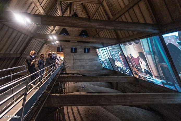 Iedereen Rubens: zolderruimte Sint-Martinuskerk.