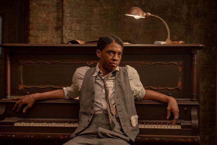 Chadwick Boseman in 'Ma Rainey's Black Bottom'.