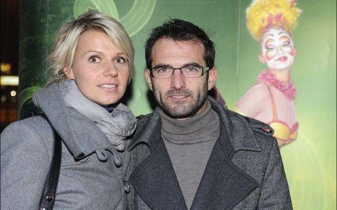 Gunther Levi en zijn vriendin Charlotte, met wie hij al een zoontje heeft.