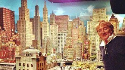 Opvallende hobby: Rod Stewart werkt al 23 jaar aan stad voor zijn modeltreinen