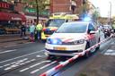 Een gedeelte van de Rijswijkseweg is afgezet na een steekpartij.