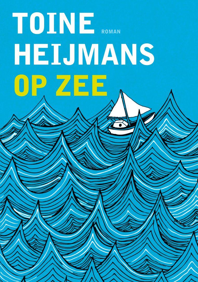 Illustratie van Jenna Arts voor Toine Heijmans'  debuutroman Op zee, 2011. Beeld Uitgeverij L.J. Veen