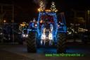Jonge boeren trokken zaterdag met versierde tractoren langs Limburgse zorginstellingen.