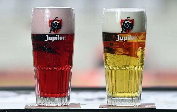 De rode variant van Jupiler.