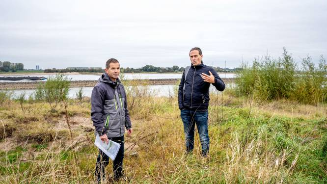 Waal-uiterwaarden Wamel en Dreumel worden spannend natuurgebied: het porseleinhoen kan niet wachten
