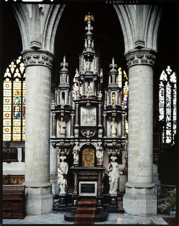 De sacramentstoren.