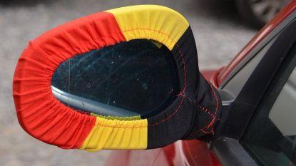 Spiegelhoesjes in Belgische driekleur? Je riskeert boete van 58 euro