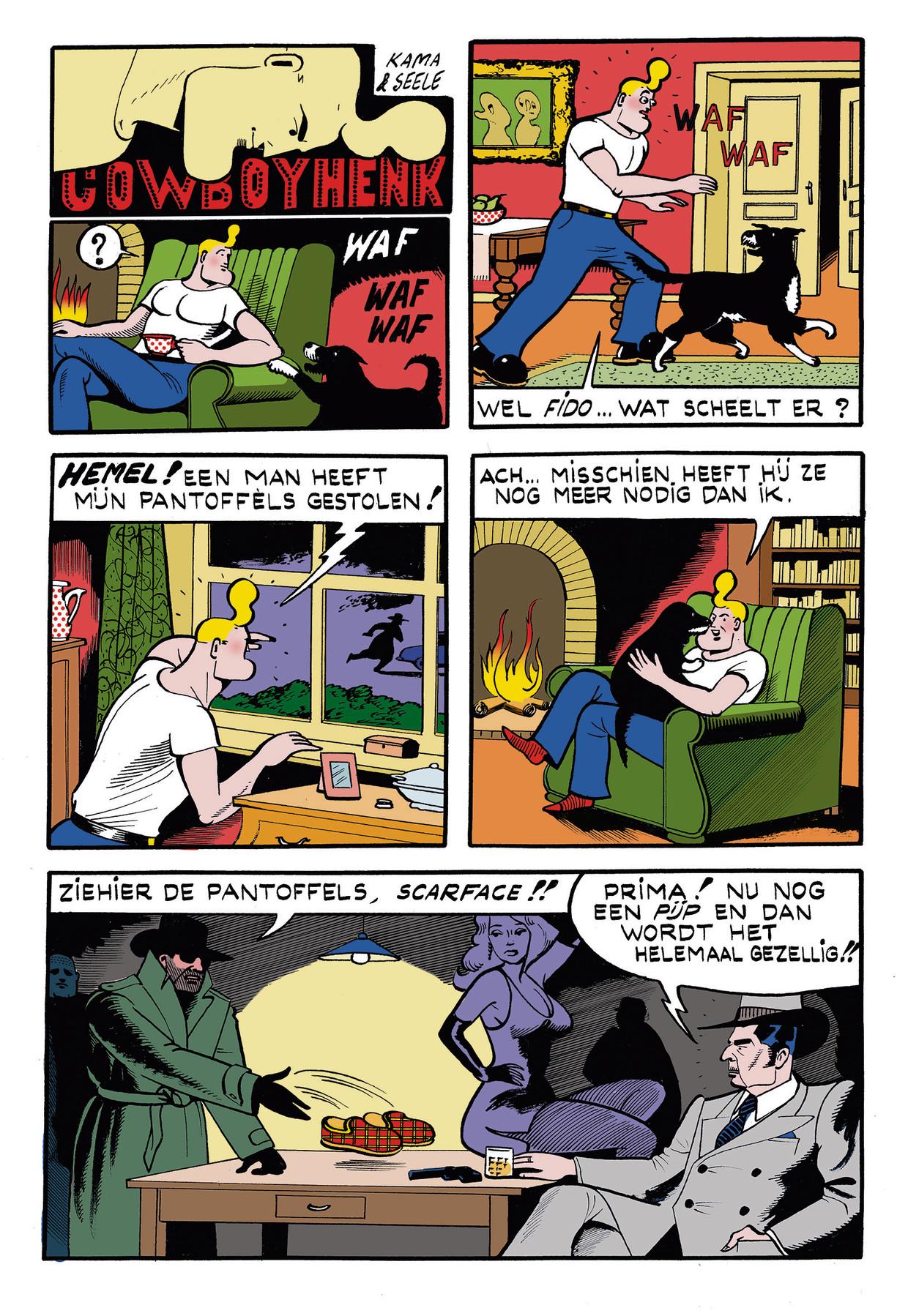 Cowboy Henk 17 Beeld Kamagurka