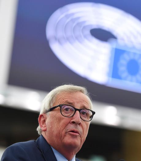 Jean-Claude Juncker fait ses adieux au Parlement européen sans prononcer un mot d'anglais