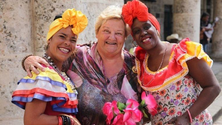 Erica in Cuba. Beeld NPO