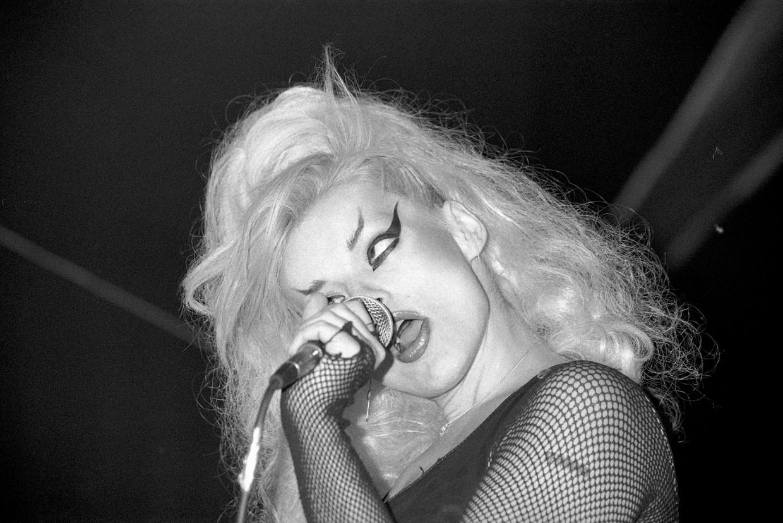 Nina Hagen in Zurich, 1985. Beeld Getty