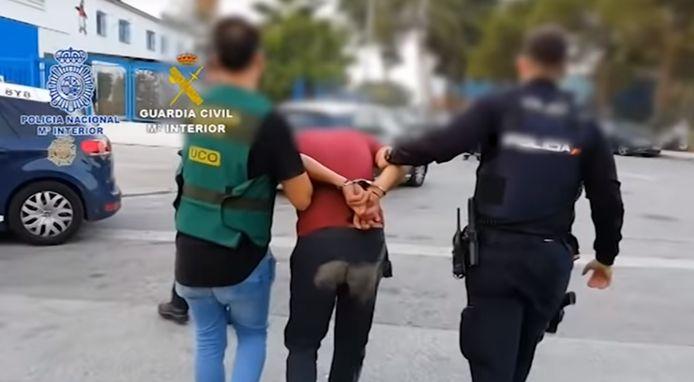 Arrestatie in Malaga