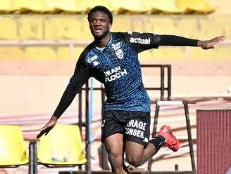 In oktober nog bij Kortrijk, nu is dodelijk efficiënte Terem Moffi topschutter in de Ligue 1 in 2021